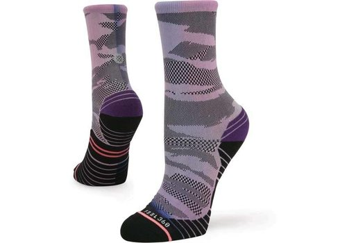 Stance Women -  Run Compass Crew Purple