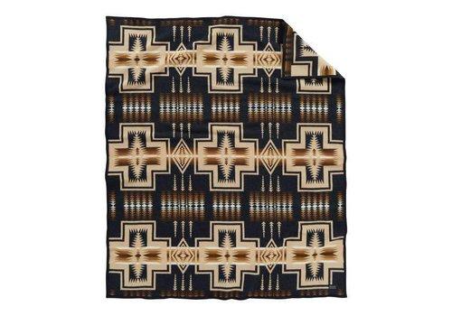Pendleton USA Harding Oxford Robe - Black