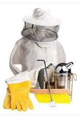 Bee Thinking Beekeeping Starter Kit (protection, Gloves, Bee Brush, Ultimate Tool, Smoker and Mediun Hat Veil Combo)