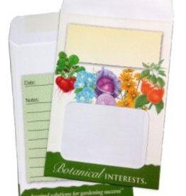 Botanical Interests Seed Storage Envelops