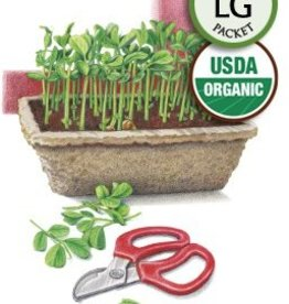 Botanical Interests Microgreens Peas for Shoots Org