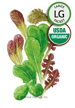 Botanical Interests Baby Greens Lettuce Marketday Org