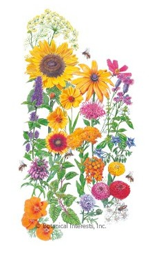 Botanical Interests Flower Mix Save the Bees