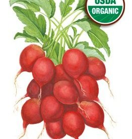 Botanical Interests Radish Cherry Belle Org