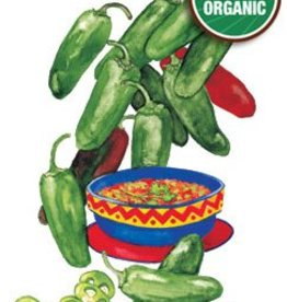 Botanical Interests Pepper Chile Early Jalapeno Org