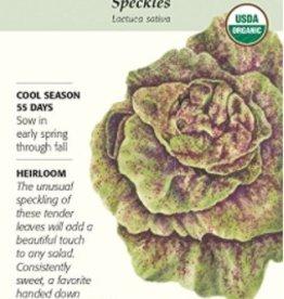 Botanical Interests Lettuce Butterhead Speckles Org