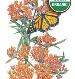 Botanical Interests Buttery Flower Milkweed Org