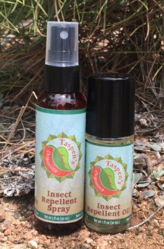 Taspen's Organics Insect Repellent Spray 2 oz