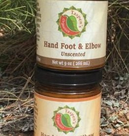 Taspen's Organics Hand Foot Elbow Cream 1.7 oz (Citrus)