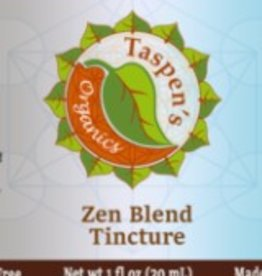 Taspen's Organics Zen Blend Tincture 1 oz