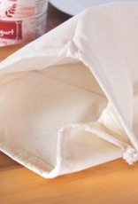 """Euro Cuisine Cotton Bag For Making Cheese 12"""" x 12"""""""