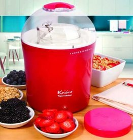 Euro Cuisine Yogurt and Greek Yogurt Maker (Red)