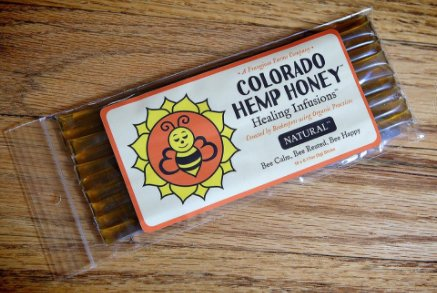 Colorado Hemp Honey Honey Stick Natural (10 pack)