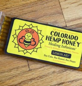 Colorado Hemp Honey Honey Stick Lemon (10 pack)