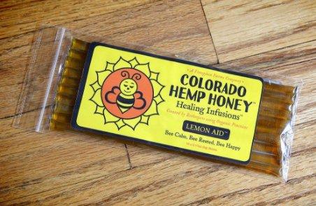 Colorado Hemp Honey Honey Stick Lemon (10 pack)