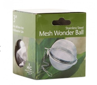 Mesh Jumbo Tea Ball Infuser 3""
