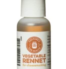 Cultures for Health Organic Vegetable Rennet Liquid (1oz)