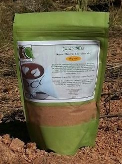 Taspen's Organics Cinnamon Healthy Raw Cacao/Hot Chocolate Mix