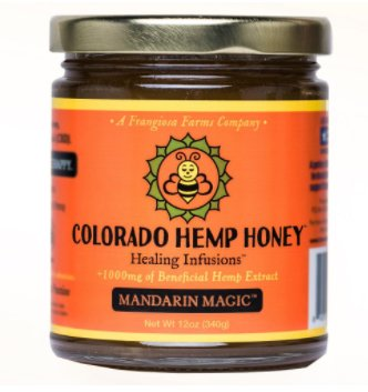 Colorado Hemp Honey Colorado Hemp Honey Mandarin 12 oz Jar