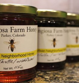 Colorado Hemp Honey Frangiosa Farms Raw Wildflower Honey