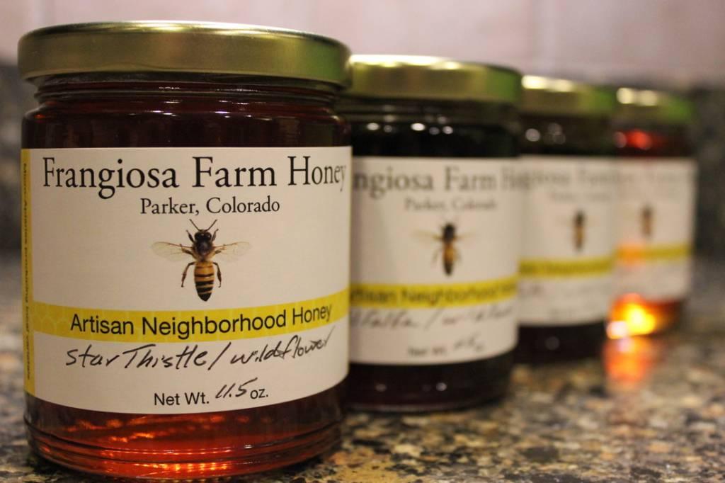 Colorado Hemp Honey Frangiosa Farms Raw Wildflower Honey