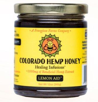 Colorado Hemp Honey Colorado Hemp Honey Lemon 12 oz Jar