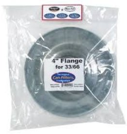"CAN Flange, 4"" 33/66 Filters"