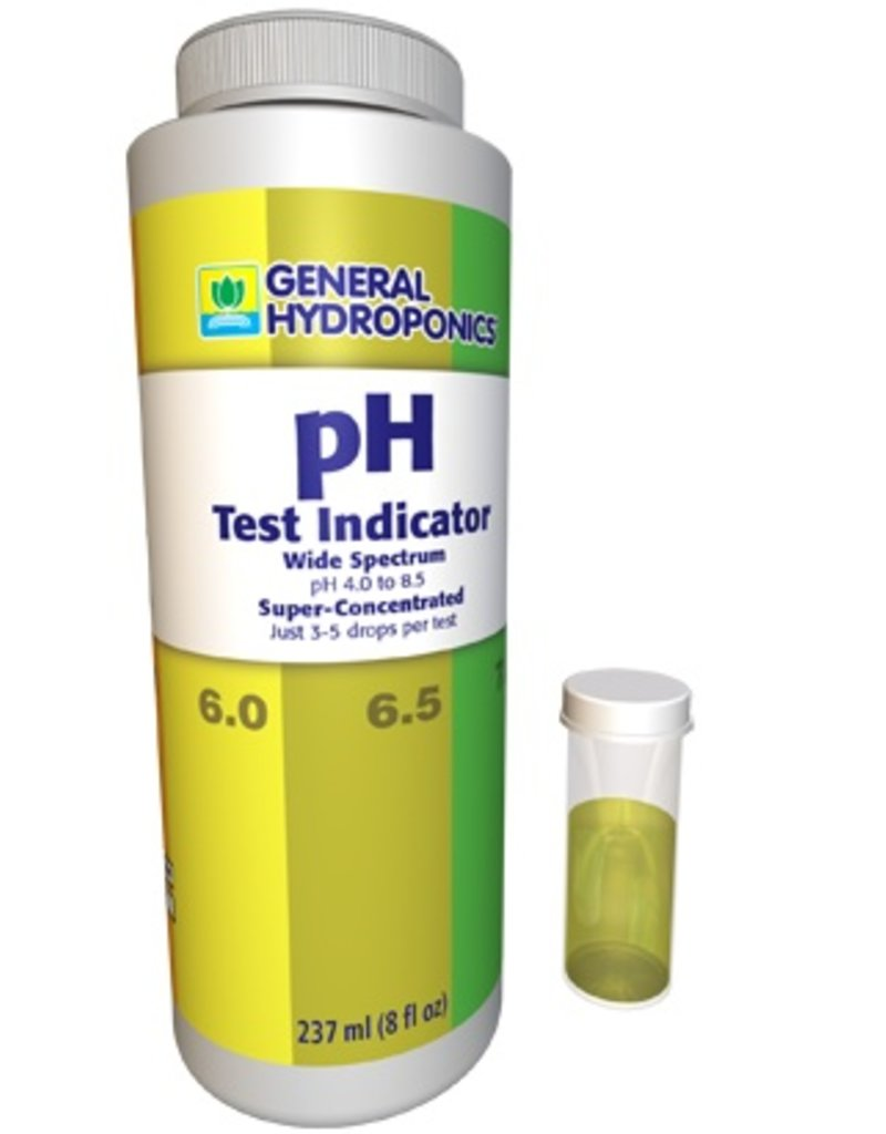General Hydroponics GH pH Test Indicator, 8oz