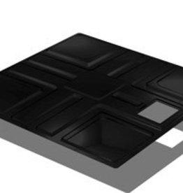 Active Aqua Reservoir Cover Black, 50GL 36.5