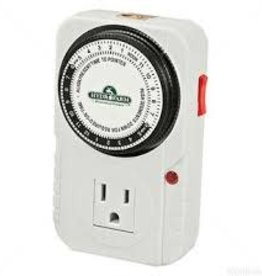 Hydrofarm Timer Single Outlet Mechanical, Hydrofarm