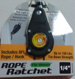 "Hydrofarm Reflector hanging System Rope Ratchet 1/4"" 150 Lbs (CN10010)"