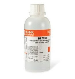 Hanna Hanna 12880 S/ cm Conductivity Solution, 230ml HI7030M