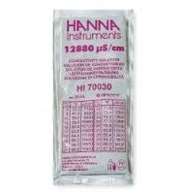 Hanna Hanna 12880 uS/cm Calibration Solution, 20mL Per Unit