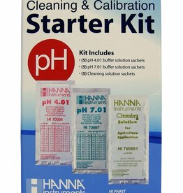 Hanna Hanna Cleaning & Calibration Solution Starter Kit (pH & Cleaning)