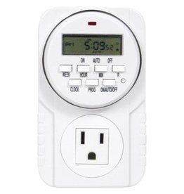 Hydrofarm Timer Single Outlet Digital, Hydrofarm