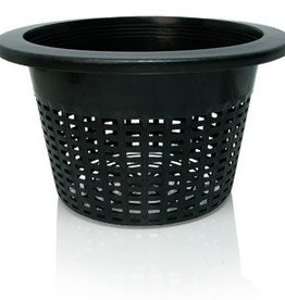 "Hydrofarm Wide Lip Bucket Basket, 10"", bag of 50"