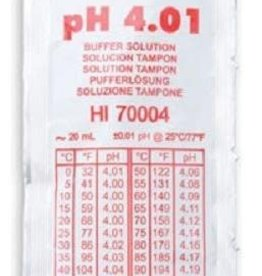 Hanna Hanna pH 4.01 Calibration Solution, 20ml (Sachets). Per Unit