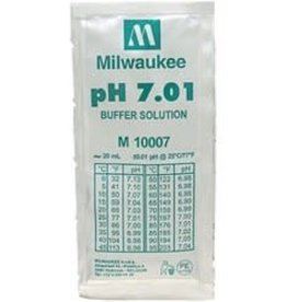 Milwaukee Instruments Milwaukee Ph 7.01 Buffer Solution, 20ml Per Unit