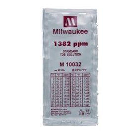 Milwaukee Instruments Milwaukee 1382 ppm TDS Solution, 20ml Per Unit
