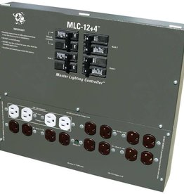 C.A.P. Master Lighting Controller 12-120/240 X-plugs + 4 120v outlets w/Trigger