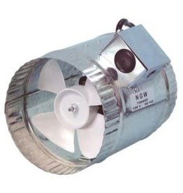 Hurricane Hurricane In-Line Duct Booster 370 CFM, 8""