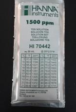 Hanna Hanna 1500 ppm TDS Calibration Solution, 20ml Per Unit