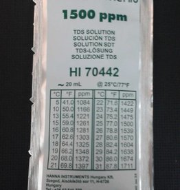 Hanna Hanna 1500 ppm TDS Calibration Solution, 20ml Per Unit