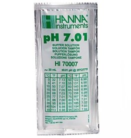 Hanna Hanna pH 7.01 Calibration Solution, 20ml Per Unit