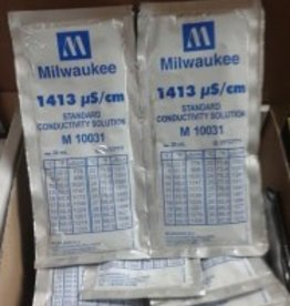 Milwaukee Instruments Milwaukee 1413 mS/cm Calibration Solution, 20 ml Per Unit