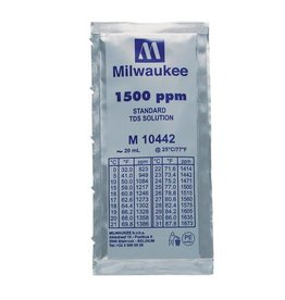Milwaukee Instruments Milwaukee 1500 ppm TDS Calibration Solution, 20ml Per Unit
