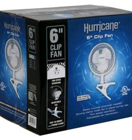 Hurricane Hurricane® 6 in Clip Fan - Classic Series