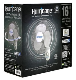 Hurricane Hurricane® Supreme Wall Mount Fan 16 in