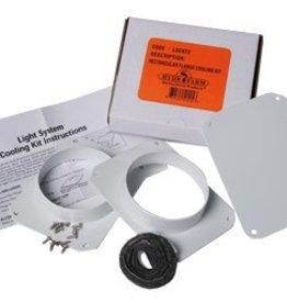 Hydrofarm Rectangular Flange Cooling Kit (LGCKT2) (AFW)