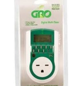 Timer, Gro Digital Single Outlet, 240V (AFW)